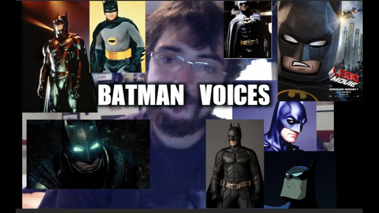 """""""Tell Me, Do You Bleed?"""" in 8 Batman Voices - YouTube"""