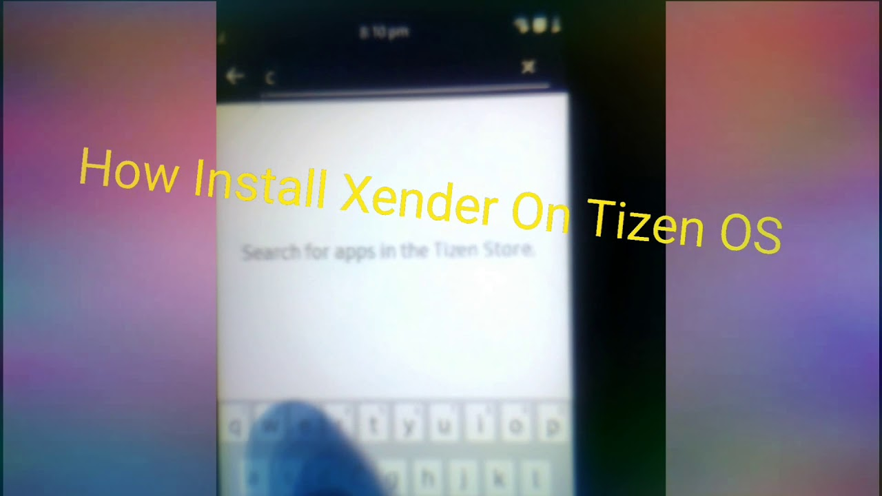 How download / install Xender on Tizen Os Mobile