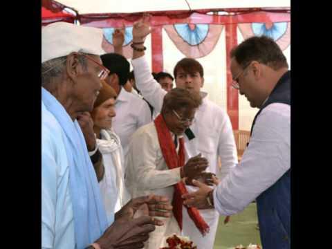 अरुण यादव जनविश्वास पदयात्रा बालाघाट वि.स. म प्र
