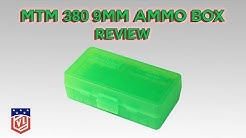 MTM 9MM/380 50 Round Ammo Box Review