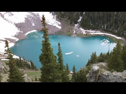 Blue Lakes Trail – Uncompahgre National Forest [CeleGREAT OUTDOORS]