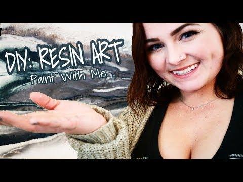DIY: Resin Art Painting for Beginners (Full Tutorial)