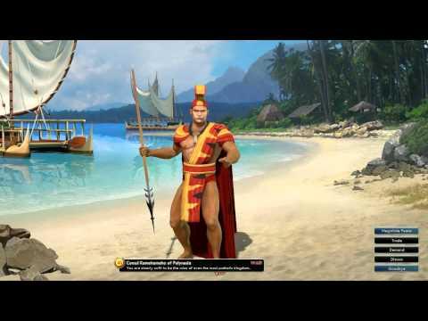 Civilization V OST | Kamehameha War Theme | Hole Waimea