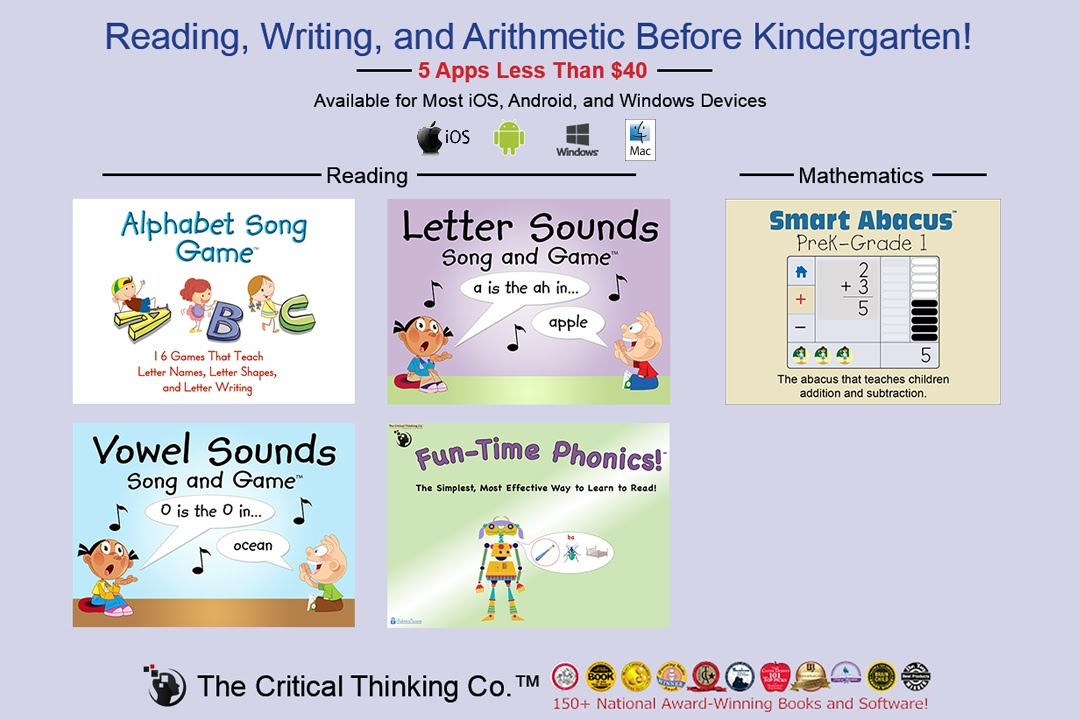 critical thinking for kindergarten
