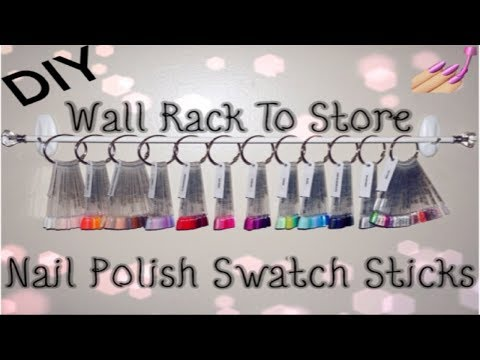 diy-wall-rack-to-store-nail-polish-swatch-sticks