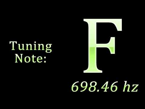 Tuning Note: F