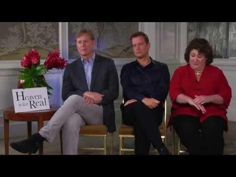 "Greg Kinnear ""Heaven is For Real"" interview"