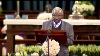 Papa they are here with us! List of Matiba's 'political enemies' mentioned at his memorial service