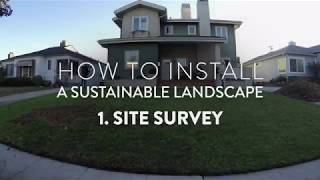HOW TO #1 Conducting a Site Survey
