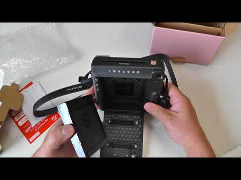 FUJIFILM Instax SQUARE SQ6 開封+準備+撮影 Unboxing+Set Up+Taking Pictures
