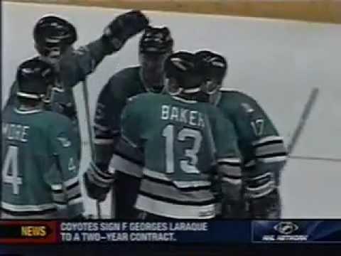 1995 NHL WCQF Series - San Jose Sharks v Calgary Flames - Part 1 of 3