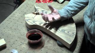 How To Apply A Water-Based Finish On An Elecrtic Guitar Body Part 3