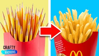FUN DIY SCHOOL SUPPLIES TO SNEAK YOUR FOOD IN CLASS Subscribe for m...