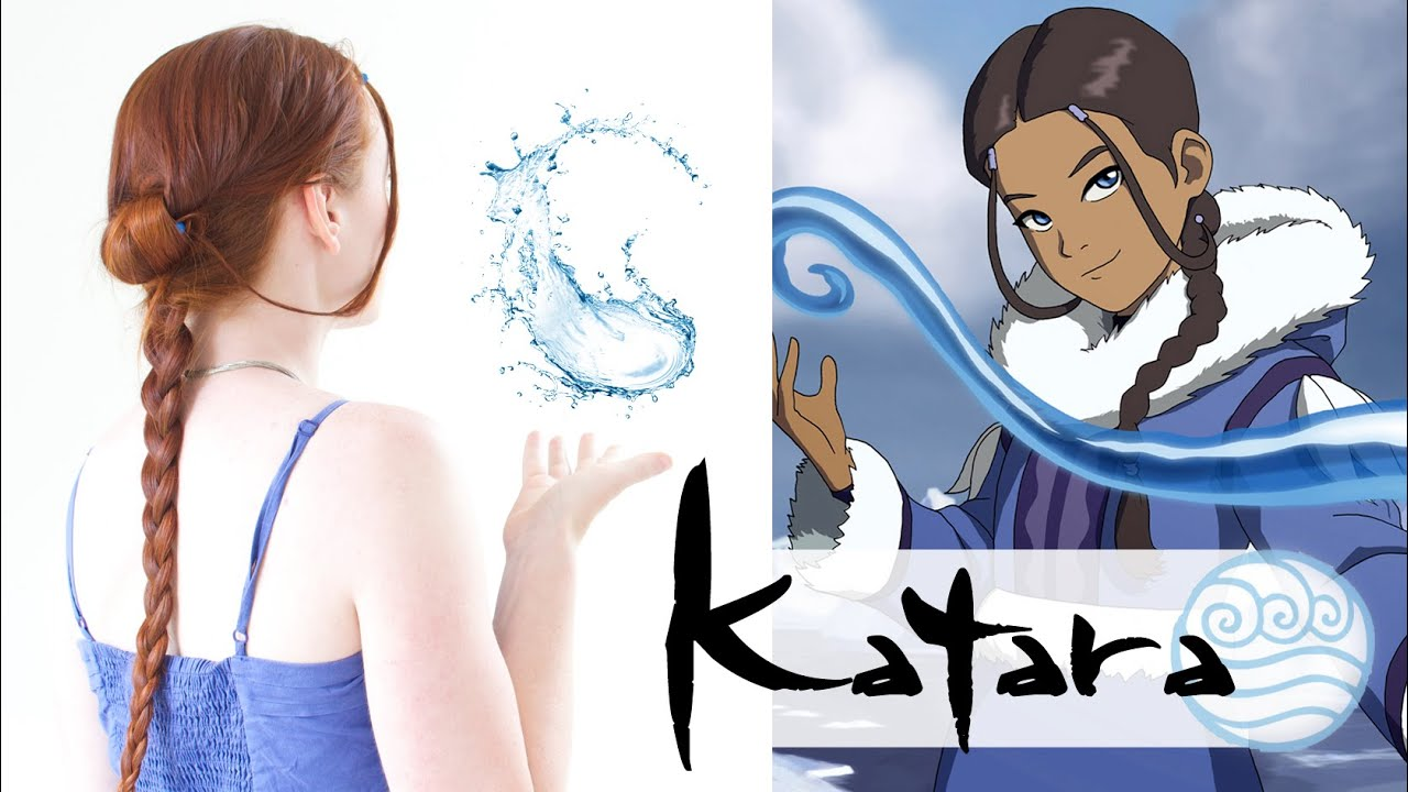 Avatar the last airbender hair katara