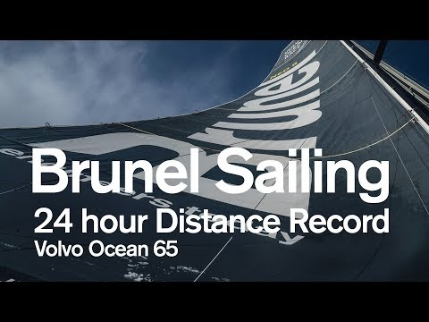 Brunel Sailing - Volvo Ocean 65 24-hour Distance Record | Volvo Ocean Race