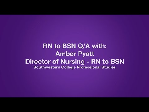 Online RN to BSN Degree Q/A with SC Nursing Director - YouTube