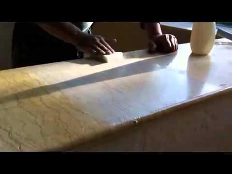 雄獅鑽石工具行 天然石材拋光粉 - YouTube