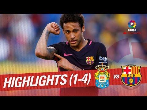 Resumen de UD Las Palmas vs FC Barcelona (1-4)