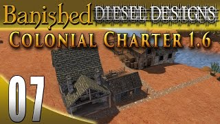 banished colonial charter 1 6 ep07 furnace fuel potter city building series 60fps