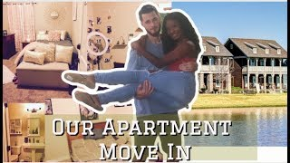 OUR COLLEGE APARTMENT MOVE IN | LSU 2019