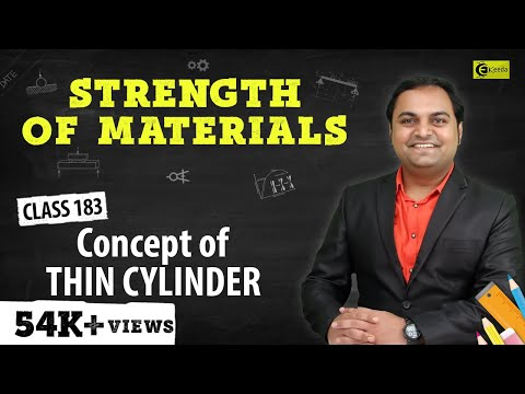 Definition of Thin Cylinder & Spherial Shells.