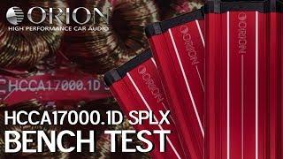 NEW ORION HCCA 17000.1D SPLX BENCH TEST