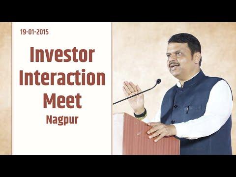 CM Devendra Fadnavis at Investor Interaction Meet at Nagpur