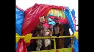 Karnevalswagen Goldenstedter Karneval 2014  Ausrast AG  NEU