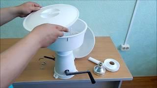 Сепаратор-маслобойка ручная (Видео обзор)