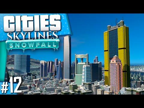 Cities: Skylines Snowfall | Part 12