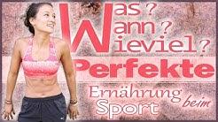 Ernährung beim Sport - Wann Essen - effektiv abnehmen und Muskeln aufbauen - Anaboles Fenster