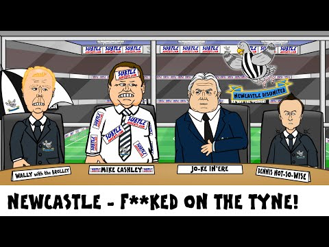 Newcastle Utd RELEGATED! They are f*cked on the Tyne! (2016 Sunderland send them down!)