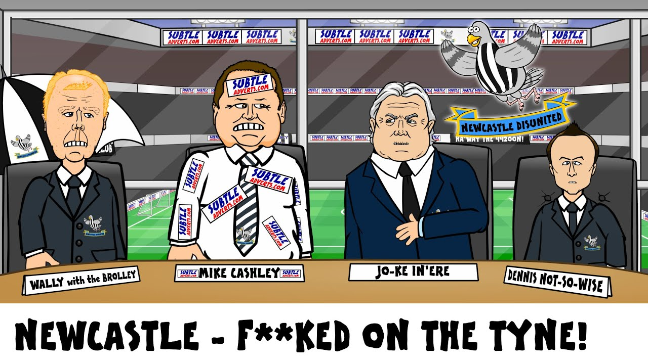 Funny Newcastle Meme : Newcastle utd relegated they are f cked on the tyne