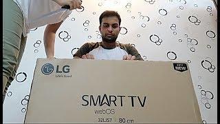 LG SMART TV webOS | 32LJ57 | Unboxing & Review