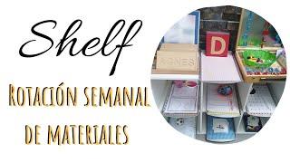 Shelf de la semana | Rotación de materiales | Preescolar
