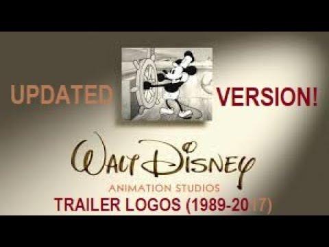 Walt Disney Animation Studios Trailer Logos (2005-2016) (UPDATED VERSION!)