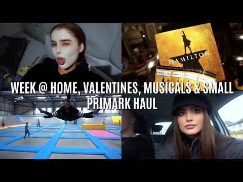 Weekly Vlog 22- WEEK @ HOME, VALENTINES, MUSICALS & SMALL PRIMARK HAUL   Adina May