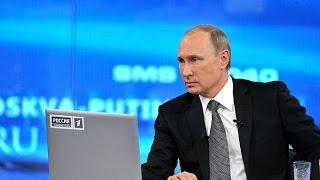 Прямая линия с Владимиром Путиным.16 апреля 2015 года