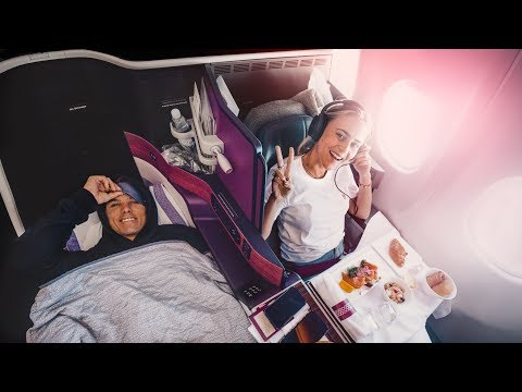 QATAR vs EMIRATES BUSINESS CLASS! | VLOG² 156