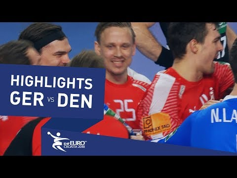 Highlights | Germany vs Denmark | Men's EHF EURO 2018