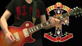 Guns N Roses - Welcome To The Jungle (full guitar cover)