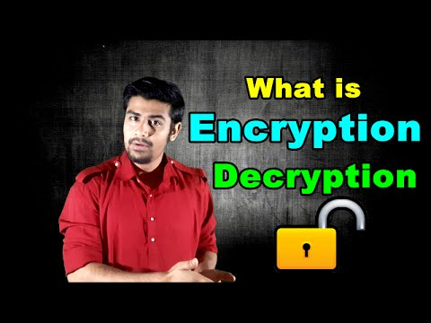 What is Encryption and Decryption ? | Concept Explained (in Hindi)