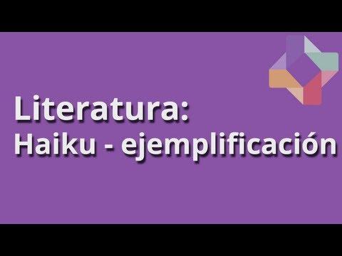 Haiku - ejemplificación - Literatura - Educatina