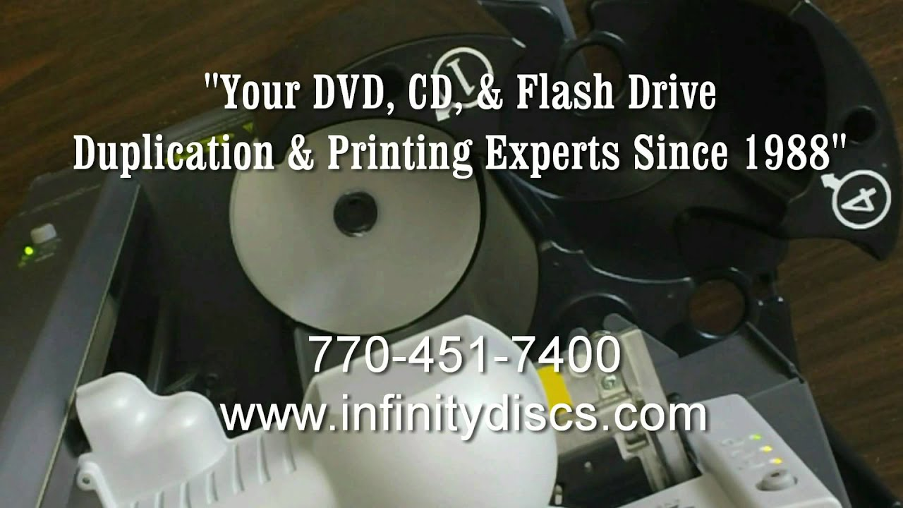 Serialize Dvd And Cd Printing Youtube