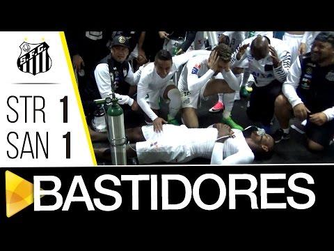 The Strongest 1 x 1 Santos | BASTIDORES | CONMEBOL Libertadores Bridgestone (17/05/17)