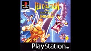 PS1: Disney's Hercules Action Game (HD / 60fps) - All letters & Heroic difficulty
