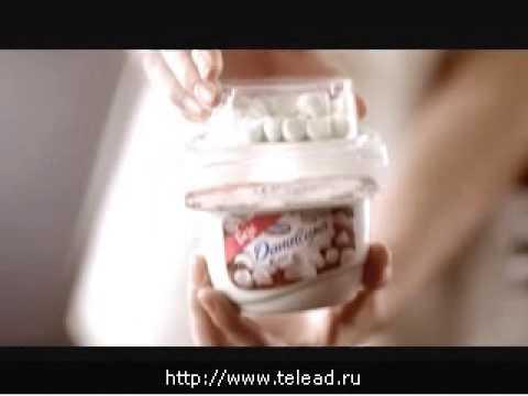 Реклама Даниссимо: Что выбрать - шоколадные вафельки или безе?