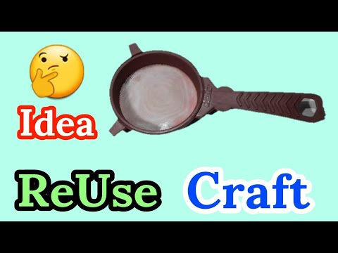 Waste Material Craft Idea | Amazing Way To Reuse Waste Kitchen Item