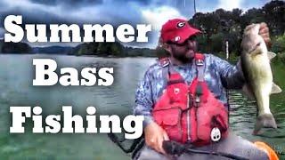 Summer Bass Fishing - Where Bass Go in the Summer