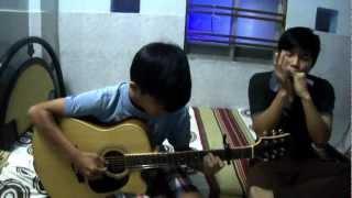 Cơn gió lạ Cover (harmornica + guitar)
